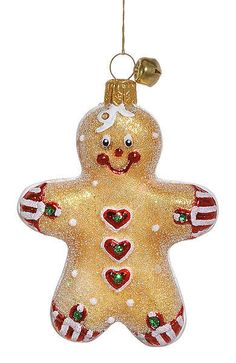 "JingleNog ""Lil Snap"" (Gingerbread) Ornament - Made in Poland (#5) in Collectibles, Holiday & Seasonal, Christmas: Current (1991-Now) 