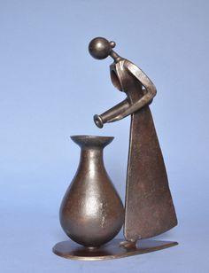 Jean Pierre Augier, sculpture __Verseuse