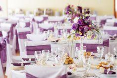 Purple Wedding Decorations, Tent Decorations, Fall Wedding Colors, Wedding Centerpieces, Centrepieces, Floral Centerpieces, Purple And Silver Wedding, Maroon Wedding, Wedding Set Up