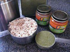 DIY Homemade rabbit treats- oats, baby food, and alfalfa powder
