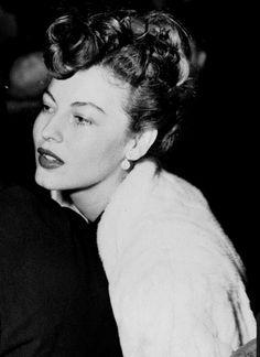 Ava Gardner, 1940s viaanantoinetteaffair