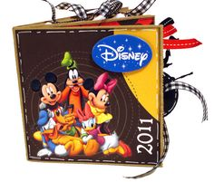 Cute Disney paper bag scrapbook album