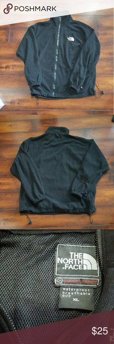 Men's North Face fleece jacket, size XL Men's black North Face fleece jacket, size XL. No stains or tares. North Face Jackets & Coats