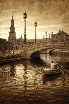 Plaza de España. Sevilla   Flickr: Intercambio de fotos