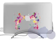Watercolor disney mickey love macbook skin Laptop Sticker Macbook Pro Air Vinyl Decal Macbook Sticker