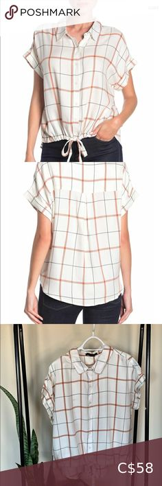 Shop Women's Sanctuary White size XL Blouses at a discounted price at Poshmark. Description: NEW Sanctuary tie high/low camp shirt. Plus Fashion, Fashion Tips, Fashion Trends, Off White, High Low, Tie, Window, Shirts, Blouses