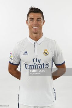 Cristiano Ronaldo of Real Madrid poses during a portrait session at Valdebebas training ground on August 18, 2016 in Madrid, Spain.
