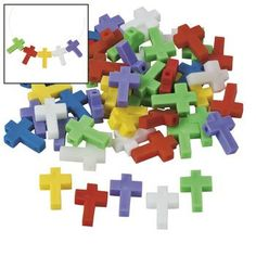 Cross-Shaped Beads - 25mm - Vacation Bible School & Craft Supplies Oriental Trading Company http://www.amazon.com/dp/B006KH0MXW/ref=cm_sw_r_pi_dp_rRG0ub1TJTJ0Q