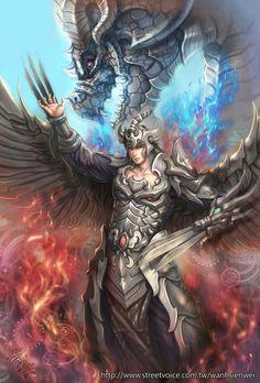 Black Dragon Warrior by ~wanhsienwei on deviantART