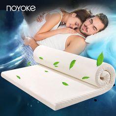 NOYOKE Dicke 5 cm Hohe Dichte Us-importe von Memory Foam Langsam Rebound Memory Foam Soft Bett Bettwäsche Matratze