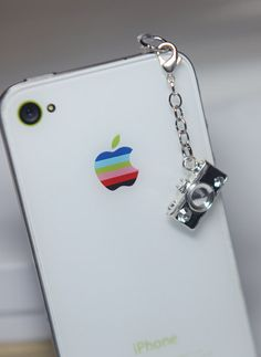 iPhone 5 Dust Plug Headphone Plug Charm by LuxeModernDesigns, $5.50