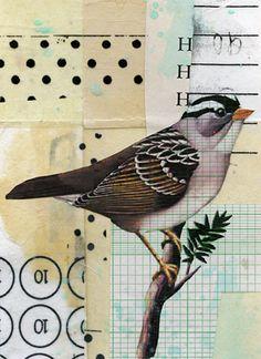 Randel Plowman, 90 Degrees  collage on paper
