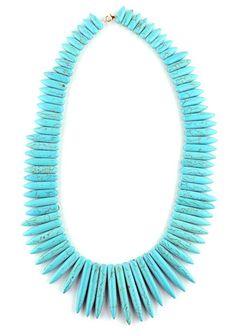 Bold Turquoise Statement Necklace - Belladaar