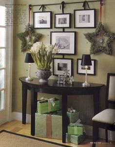 Great Frame Wall With Brackets