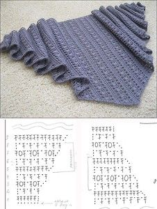 Best 12 5 Free Crochet Shawl Pattern Charts For This Winter – New Craft Works Crochet Bolero, Crochet Shawl Diagram, Poncho Au Crochet, Poncho Knitting Patterns, Crochet Diy, Crochet Shawls And Wraps, Crochet Motifs, Shawl Patterns, Knitted Shawls