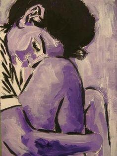 Solitude by Sharla Hammond | acrylic painting.