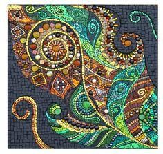 Mosaic GLDGN106x by JulieEdmunds-Mosaic.deviantart.com on @deviantART