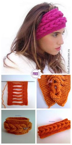 DIY Knitted Faux Braid Headband Free Pattern (Video) DIY Beautiful Knitted Faux Braid Headband Free Knitting Pattern - Video # cute Braids with headbands Knitting Designs, Knitting Patterns Free, Knit Patterns, Free Knitting, Knitting Projects, Crochet Projects, Free Pattern, Knit Headband Pattern, Knitted Headband