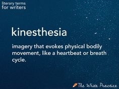 Kinesthesia: Definition and Examples for Writers