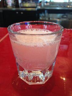 Pink Starburst Shot 1 oz Vanilla Vodka 1 oz Watermelon Pucker 1 oz Sweet & Sour