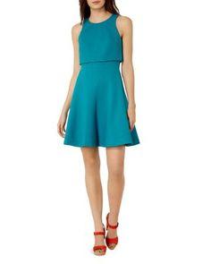 KAREN MILLEN Layered-Look Dress | Bloomingdale's