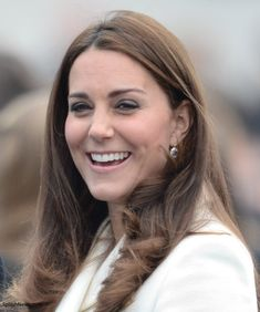 Catherine, Duchess of Cambridge visits an art project at the construction site of the new Ben Ainslie Racing headquarters and Visitor Centre on February 12, 2015 in Portsmouth, England.