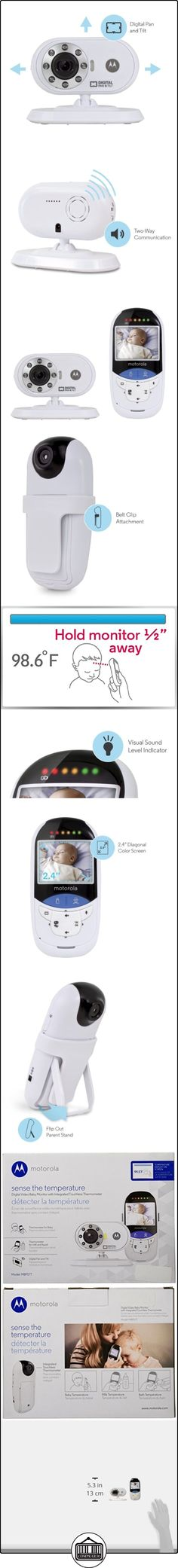 Motorola MBP27T Digital Video Baby Monitor with No-Touch IR Sensor  ✿ Vigilabebés - Seguridad ✿ ▬► Ver oferta: http://comprar.io/goto/B00IM8FXP4