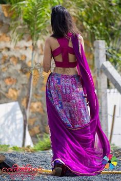 #cutout #back #indowestern #traditional #indian #indianfashion  details @ www.facebook.com/tijoribynikita
