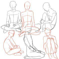 how to draw crossed legs - Google Search