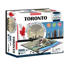 4d Cityscape Toronto History Time: 1,000 Pieces