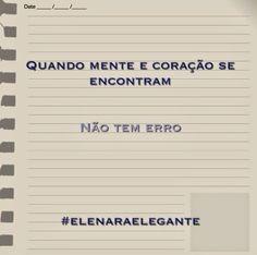 Elenara Elegante: Dica do dia - sábado