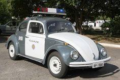 Carro mais usado pelas PMs no Brasil, nos anos 60 e 70.