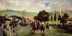 """The Races at Longchamp"" (ca. 1867) 