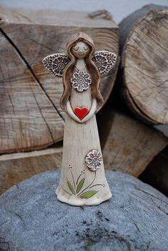 1 million+ Stunning Free Images to Use Anywhere Ceramic Clay, Ceramic Pottery, Pottery Art, Ceramic Christmas Decorations, Clay Projects For Kids, Pottery Angels, Ceramic Angels, Free To Use Images, Polymer Clay Crafts