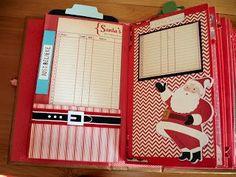 Christmas Mini Albums, Christmas Journal, Christmas Scrapbook, Christmas Minis, Christmas Paper, Christmas Crafts, Christmas Books, Christmas Stuff, Merry Christmas