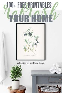 Say 'Hello' to Spring and refresh your home with 100+ FREE PRINTABLE WALL ART. One of the quickest ways to add style and new décor to your interior is to decorate with wall art printables that you can download and print yourself. Choose wall art that fits your decor and refresh your home quickly and on budget. We have a collection of 100+ free printables from our favorite bloggers and creators. #freeprintables #DIYhomedecor #springwallart