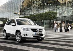 VW Tiguan in White