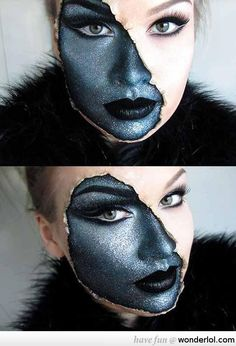 Make-up Awesomeness. This is really cool.