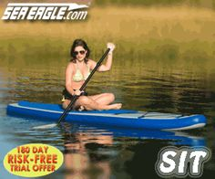 Gear Review: The Sea Eagle inflatable Stand Up Padlle HB96 - http://www.paddleguide.com/forums/showthread.php?22380-Gear-Review-The-Sea-Eagle-inflatable-Stand-Up-Padlle-HB96