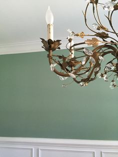 Photo by Dixie Light Farrow and Ball Chappell Green In love with this color!