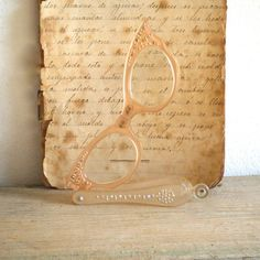 Vintage Folding Cat Eye Readers Opera Style by Shop Archeologie