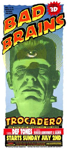 check sperry and ron donovan Psychic Sparkplug Bad Brains Poster