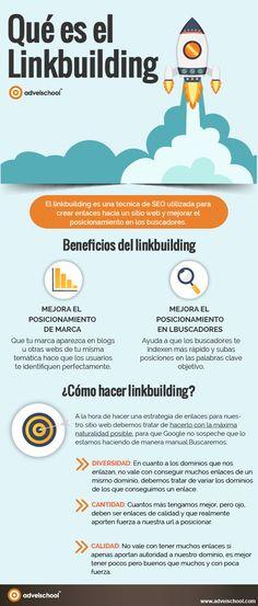 Hola: Una infografía sobre qué es LinkBuilding. Vía Un saludo