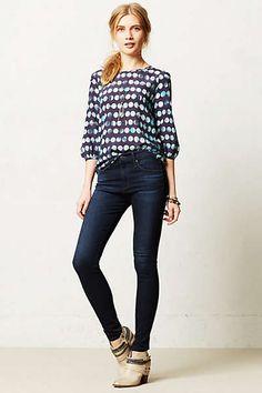 Anthropologie - AG Farrah High-Rise Skinny Jeans