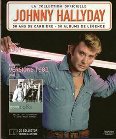 la collection officielle johnny hallyday 50 ans de carrière 50 albums de légende…