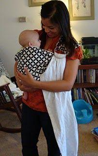 Baby sling tutorial