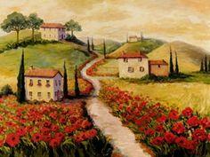 Joanne Morris ~ Tuscan Hills