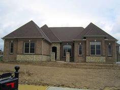 1000 images about customer home long cove 159 on for Ranch home builders ohio