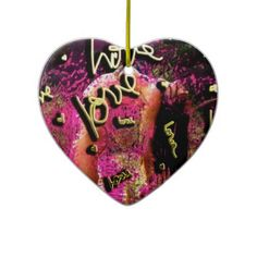 Love Camel Yoga Pose Heart Ornament  $22.95.  The perfect unisex gift for the holidays. Harness the power of the pose. Share and inspire accordingly.