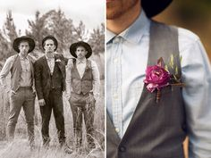 Gorgeous Victorian Wedding Inspiration- love the rustic Three Nails Photography Wedding Poses, Wedding Men, Wedding Groom, Wedding Trends, Wedding Styles, Dream Wedding, Wedding Blog, Groom And Groomsmen Looks, Steampunk Wedding